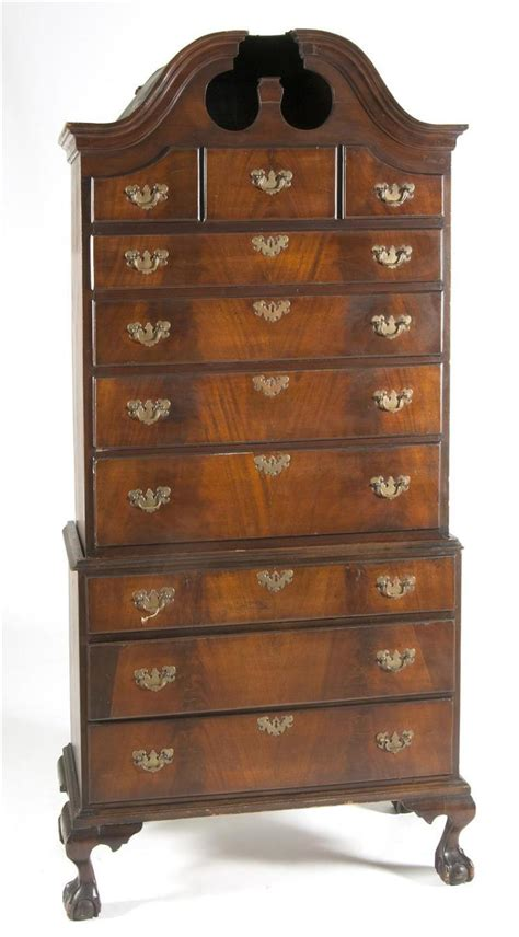 Antique Bonnet Dresser by Antique American Bonnet Top Chest On Chest Married Se