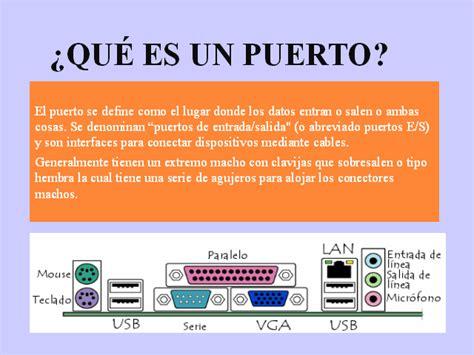 libro qu es un dispositivo puertos y conectores de un pc monografias com