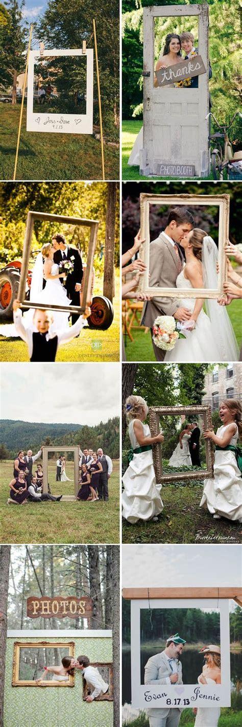 cornici foto matrimonio photo booths con cornici matrimonio coisas