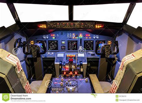 dait interno it carlinga de flight simulator hecho en casa boeing 737