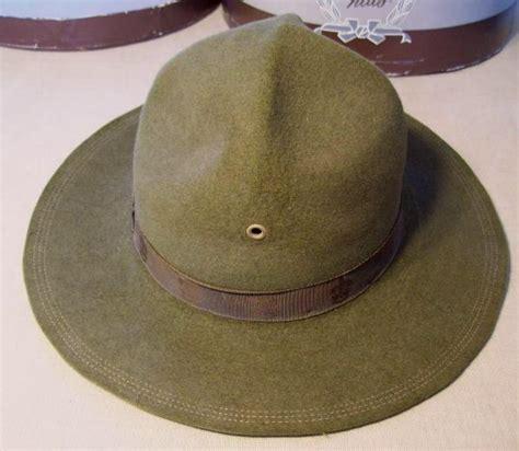 Winning Hat All Sz vintage eisner felt boy scout caign hat w box sz 7 ebay