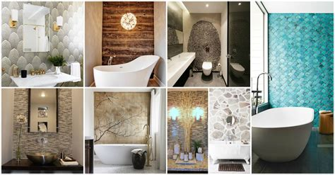 15 best ideas of wall accents for bathrooms