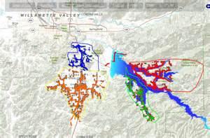 Hazmat Table Evacuation Planning For Lane County Oregon Simtable