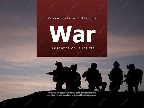 War Ppt Goodpello War Powerpoint Template