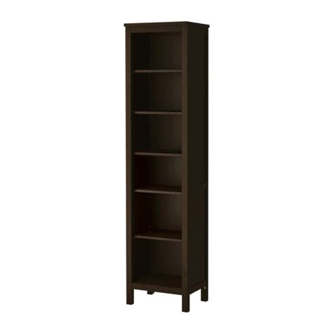 Black Bookshelf Hemnes Bookcase Black Brown Ikea