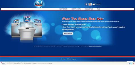 Find Sweepstakes Daily - finish find the shine sweepstakes