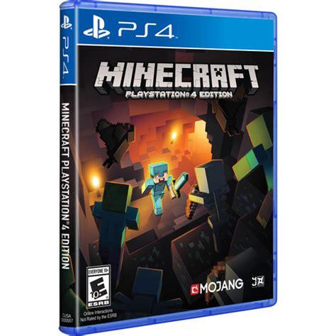 Minecraft Playstation 4 Edition Ps4 Reg 1 Mojang Minecraft Playstation 4 Edition Ps4 3000557 B H