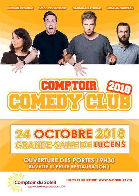 Comptoir Club by Comptoir Comedy Club 183 Monbillet Ch