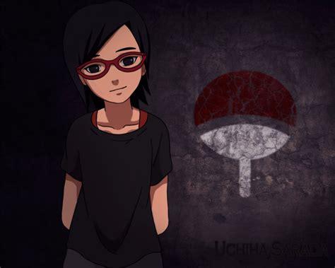 Being Luckyand Sarada by Sarada Uchiha To Be The New Villain Theory Anime Snack
