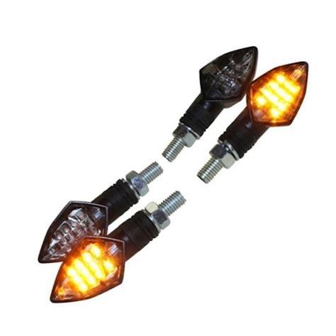 E Nummer Blinker Motorrad by Led Mini Blinker Set Spear Schwarz Klar E Nummer M8 F