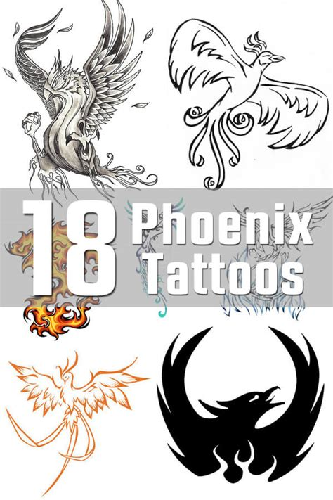 phoenix tattoo designs the body is a canvas