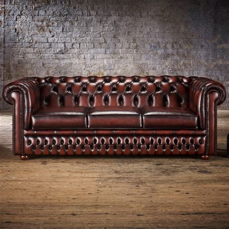 chesterfield leather sofa bed chesterfield 3 seater sofa bed from timeless