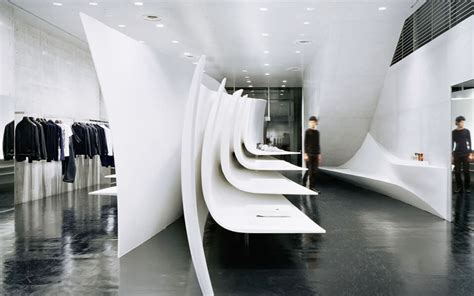 by zaha hadid neil barrett world s top 5 most inspiring shop interiors designspice