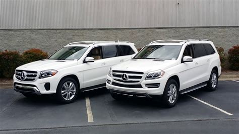 differences between the 2017 mercedes gls450 and the