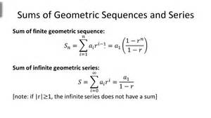 Sum To Infinity Of A Geometric Progression Geometric Series Ck 12 Foundation