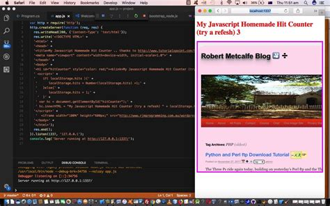 visual studio tutorial in hindi visual studio code local storage primer tutorial robert