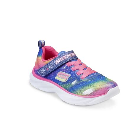 skechers multi color shoes skechers toddler s pepster pink multicolor athletic