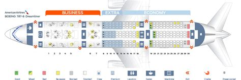 seat map dreamliner seat map boeing 787 8 american airlines best seats in the