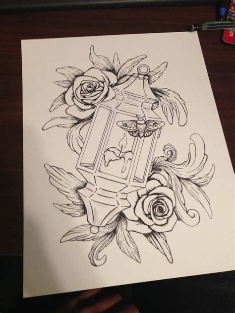 lantern tattoo designs 60 outstanding candle lantern designs and pictures