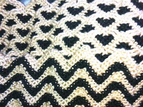 sweetheart reversible ripple afghan pattern rocky s favorite things sweetheart ripples reversible afghan