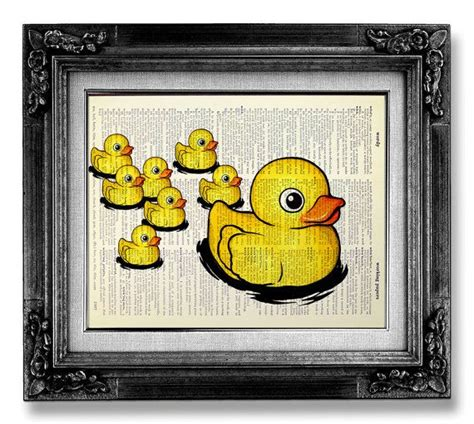 Rubber Duck Bathroom Decor Rubber Duck Bathroom Decor Accessory Baby Shower Decoration Poster Rubber Ducky