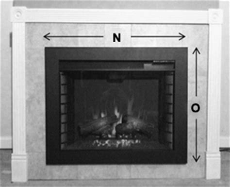 Fireplace Insert Trim Kit by Classicflame 28 In Spectrafire Plus Infrared Electric