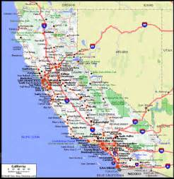 cing california coast map west coast california map california map