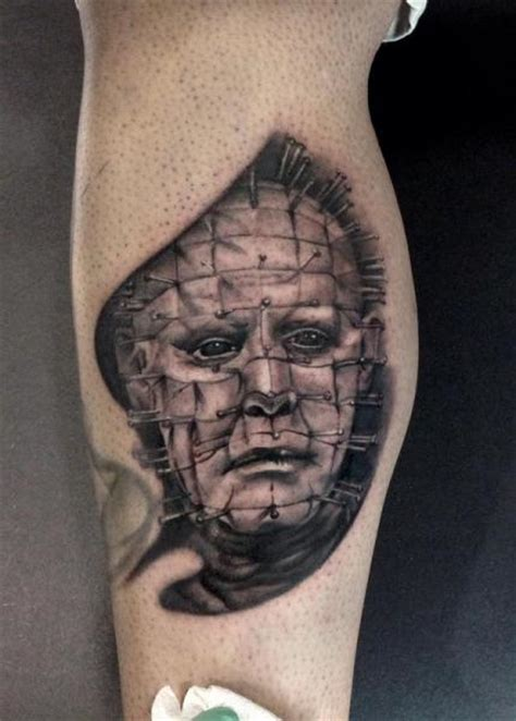 hellraiser tattoo arm hellraiser by junkies tattoos