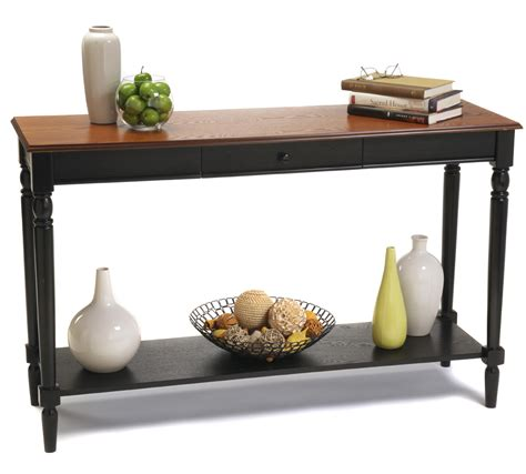 country accent table country console table by convenience concepts in