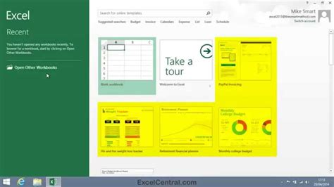 excel 2010 new features tutorial create a new blank workbook in excel 2010 how to create
