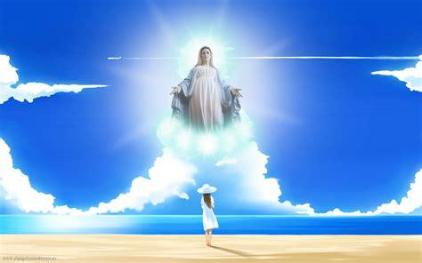 imagenes de jesus y maria en el cielo emociones positivas cebra positiva