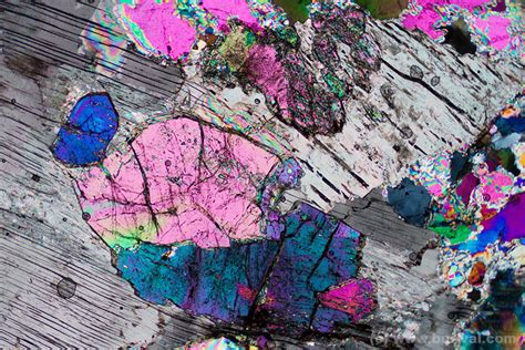 tourmaline thin section minerals under the microscope zbynek burival photography