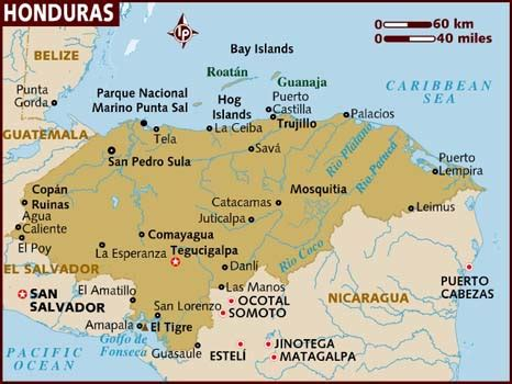 area code from us to honduras honduras population area capital cities