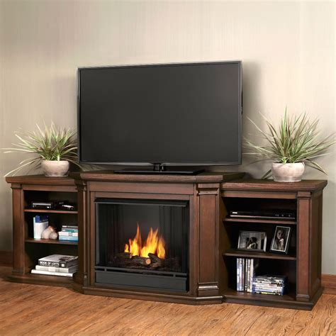 real valmont entertainment center ventless gel