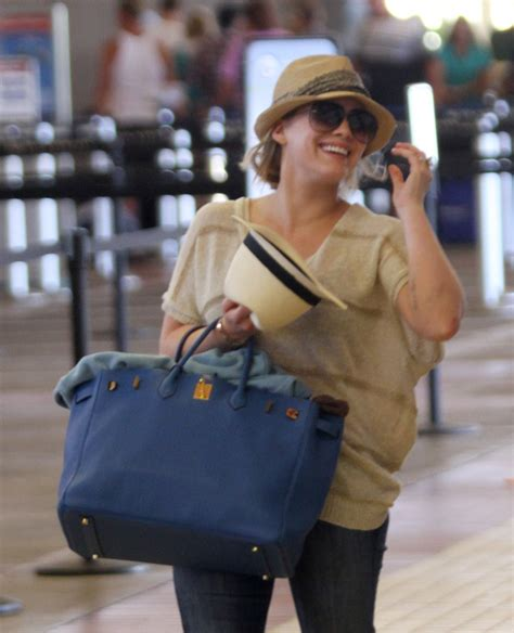 Other Designers Hilary Duff With Designer Travel Bags by The Many Bags Of Hilary Duff Purseblog