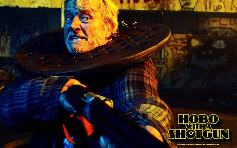 With A Hobo With A Shotgun Wallpapers