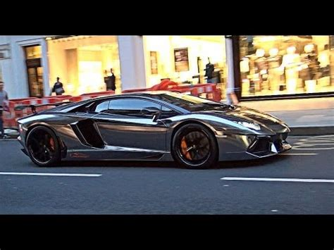 black chrome lamborghini black chrome lamborghini aventador flame youtube