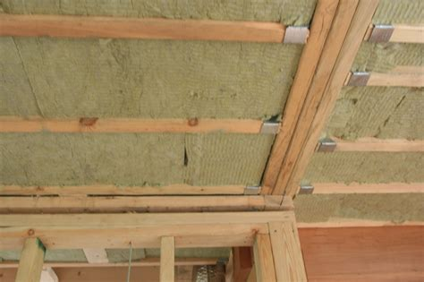 Sound Insulation Ceiling by Sound Insulation In The Ceilings Ecologhouse Sustainable Buildings Zero Energy