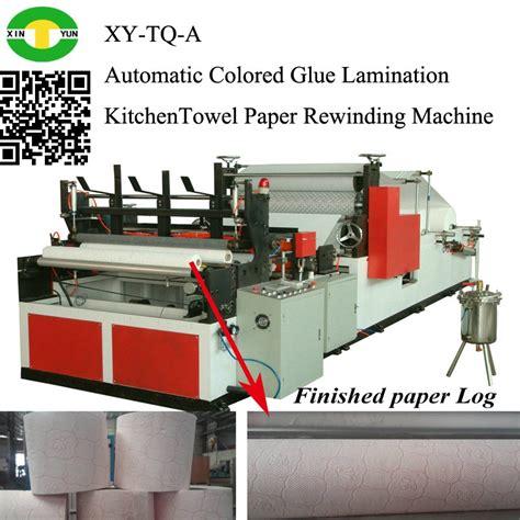 Kraft Paper Machine - automatic slitting machine kraft paper rolls rewinding