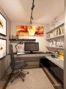 nice small home office practical setup kind
