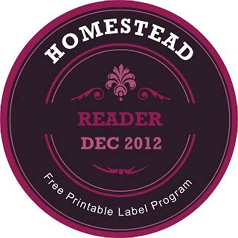 Free Custom Made Printable Mason Jar Label Maker 187 The Homestead Survival Gardening Donation Jar Label Template