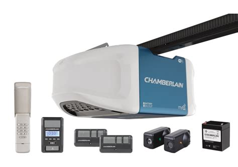 Programing Chamberlain Garage Door Opener by 1 1 4 Hps Wi Fi Garage Door Opener With Battery Backup