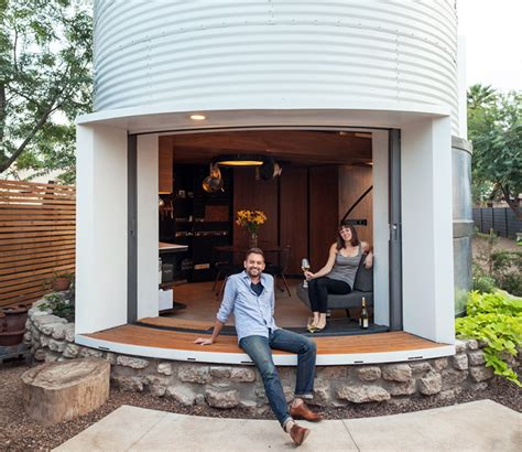 silo house mid century grain silo transformed into a gorgeous affordable home for two grain silo