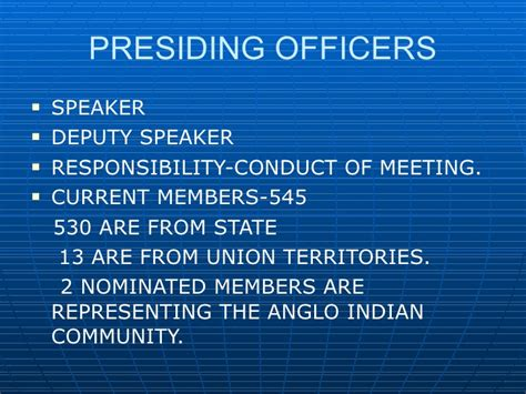 Who Was The Presiding Officer At The Constitutional Convention by Constitution Of India 2003