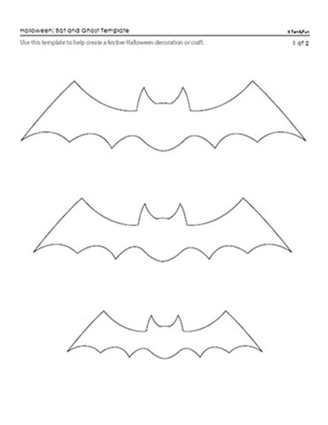bat templates free craft in the city printables