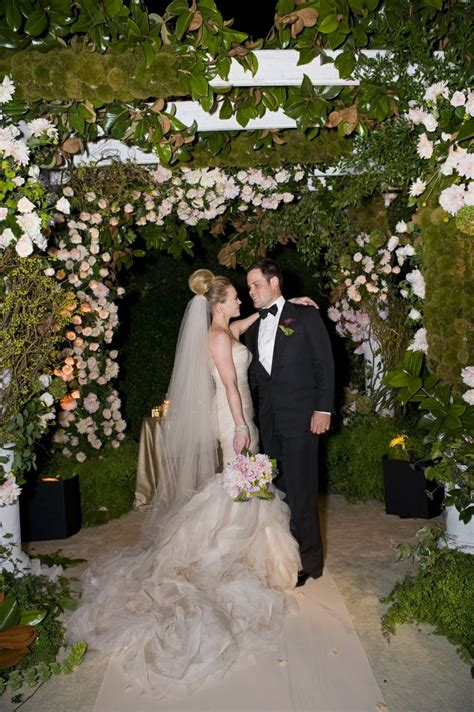 Wedding Bells For Hilary by Hilary Duff In Vera Wang And Mike Comrie
