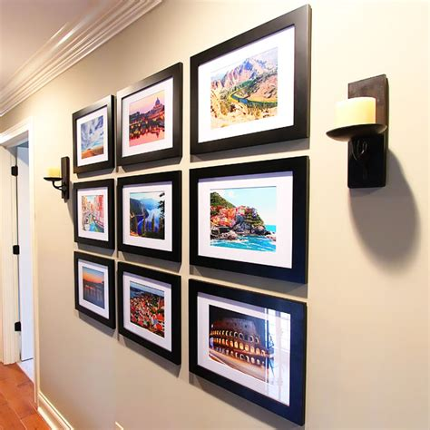 travel wall ideas new house tour travel gallery wall kevin amanda