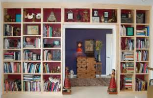 Wall To Wall Bookcase Alvarado Cabinetry