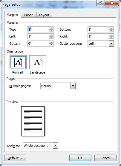 format makalah spasi cara mengubah satuan panjang inchi ke centi di microsoft
