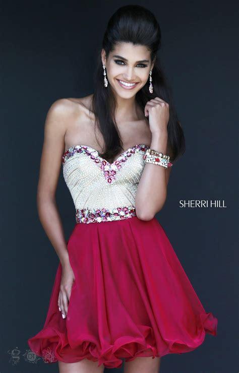 sherri hill   jade dress prom dress
